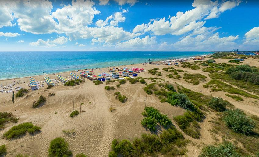пляж Анапа фото