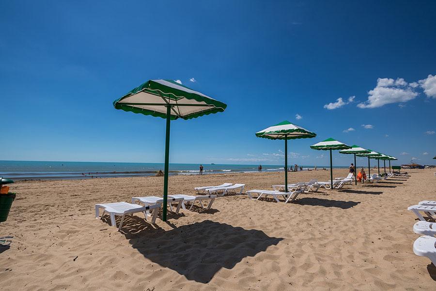 пляж Лазурный берег Анапа