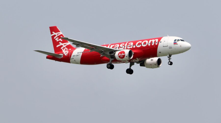 Air Asia airplane самолет